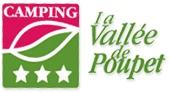 Camping de la Vallée de Poupet Logo